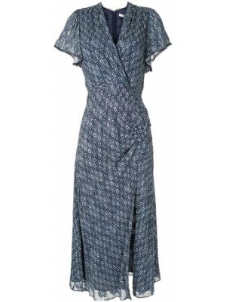 Платье мини миди с запахом Jonathan Simkhai