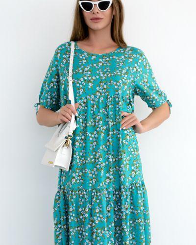 Платье бохо из штапеля Nikol