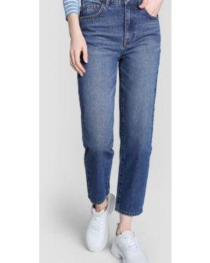 Прямые джинсы на пуговицах с карманами Ostin