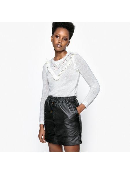 Ажурный пуловер акриловый из мохера La Redoute Collections