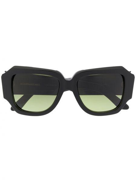 Муслиновые черные солнцезащитные очки Olivier Theyskens