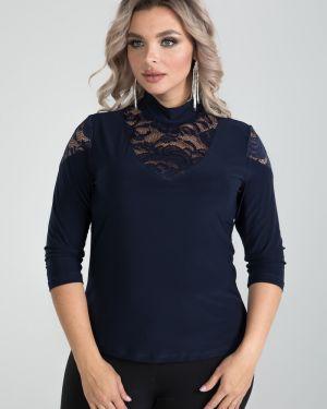 Блузка гипюровая с воротником-стойкой марита