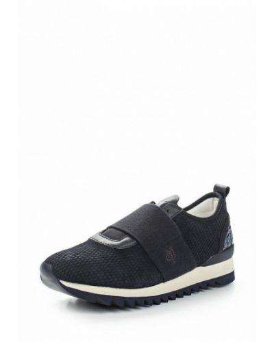 Синие замшевые кроссовки Marc O'polo