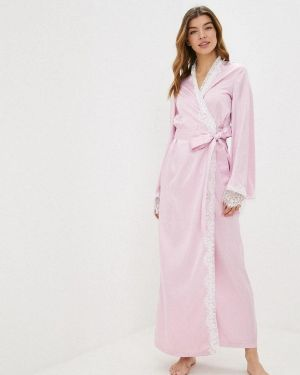 Халат ажурный розовый Gepur
