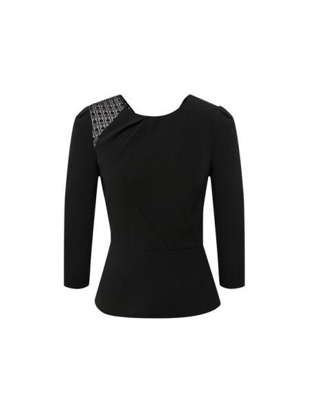 Шелковая блузка с подкладкой Roland Mouret
