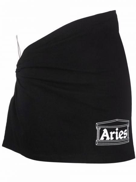 Юбка мини - черная Aries