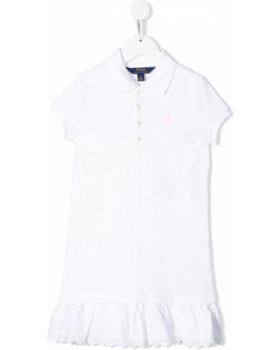 Платье белое Ralph Lauren Kids