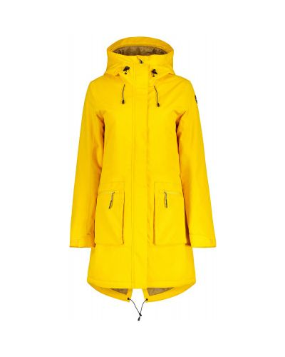 Желтая куртка туристическая Icepeak