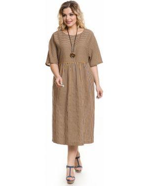 Платье миди повседневное платье-сарафан Novita