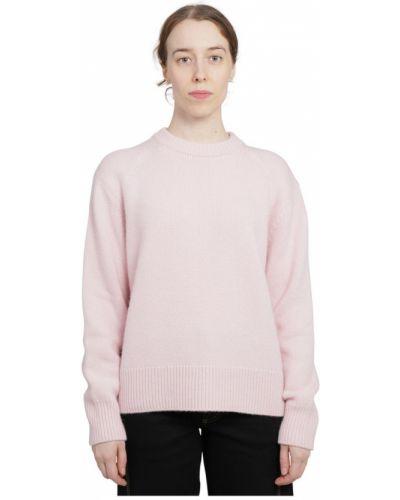 Różowy sweter Lanvin