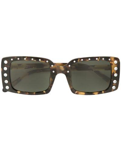 Солнцезащитные очки с логотипом хаки N21