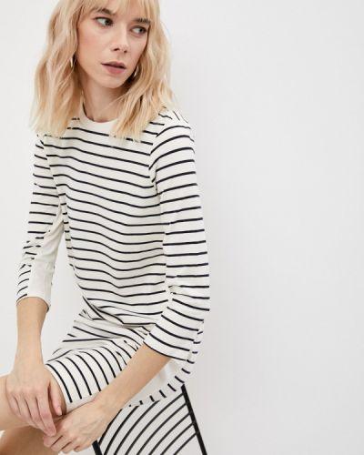 Платье-футболка - белое French Connection