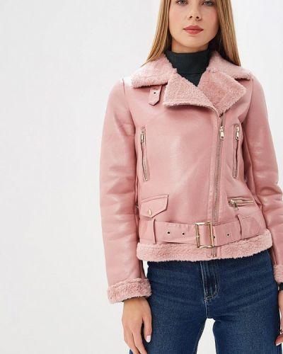 Розовая дубленка Z-design