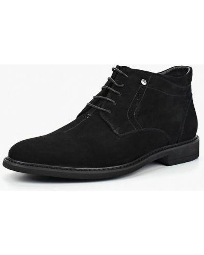 Ботинки осенние высокие замшевые Dino Ricci