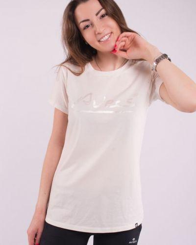 Прямая базовая футболка с круглым вырезом Avecs