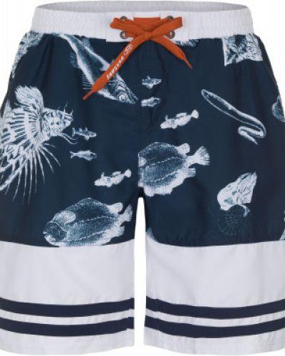 Пляжные шорты спортивные синий Exxtasy