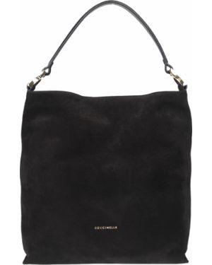 Текстильная сумка - черная Coccinelle