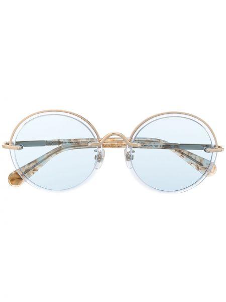 Niebieskie okulary Viktor & Rolf