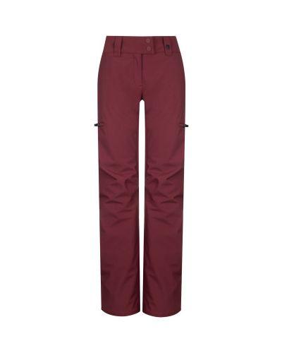 Прямые красные теплые брюки Termit