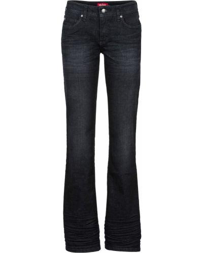 Расклешенные джинсы буткат стрейч Bonprix