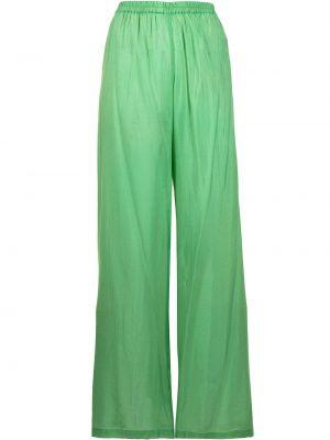 Зеленые брюки с поясом Bambah