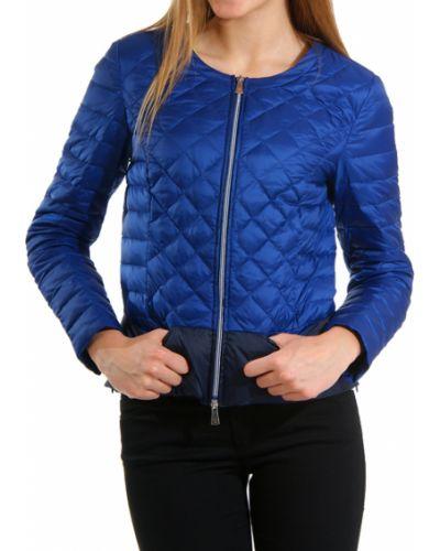 Синяя куртка весенняя Trussardi
