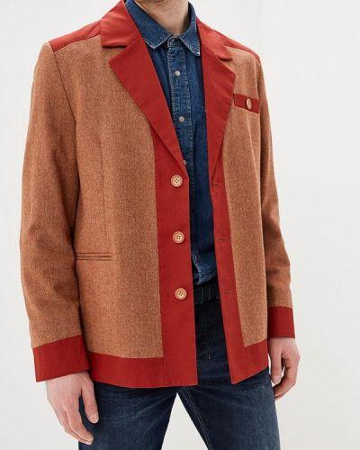 Пиджак коричневый Elijah & Sims