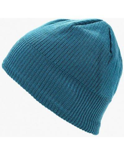 Бирюзовая шапка осенняя Salomon