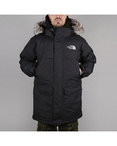 Куртка черная нейлоновая The North Face