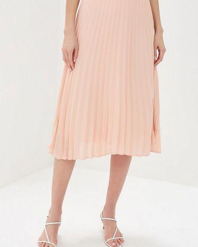 Плиссированная юбка розовая Zarina