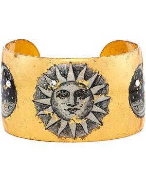Czarna złota bransoletka ze złota Evocateur