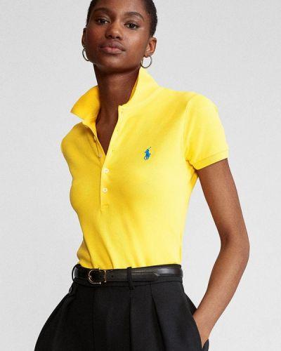 Желтое поло Polo Ralph Lauren