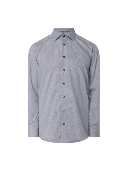 Niebieska koszula bawełniana Eton