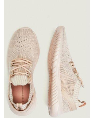 Кроссовки на платформе розовый Oysho