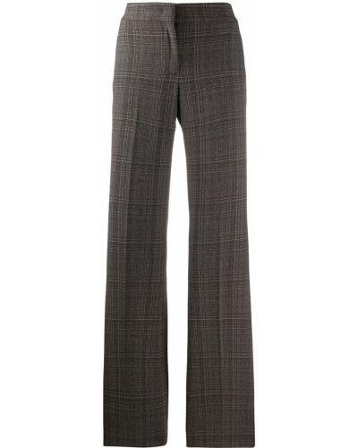 Черные расклешенные брюки Piazza Sempione