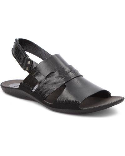 Sandały skórzany czarny Nik