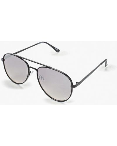 Солнцезащитные очки авиаторы черные Jack & Jones