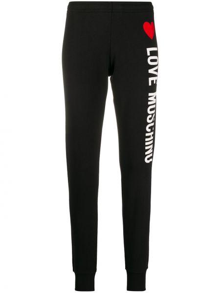 Спортивные брюки с заниженной талией с поясом Love Moschino