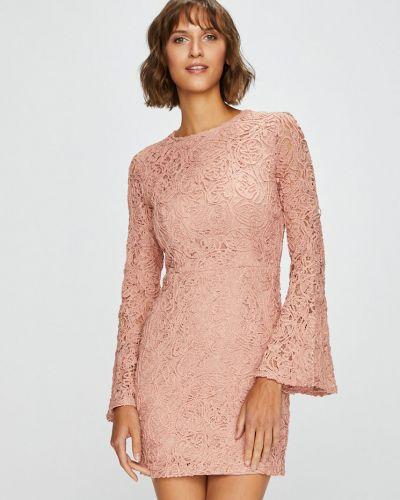 Платье мини облегающее с вырезом Answear