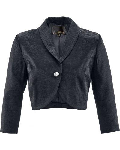Модное черное с рукавами болеро Bonprix
