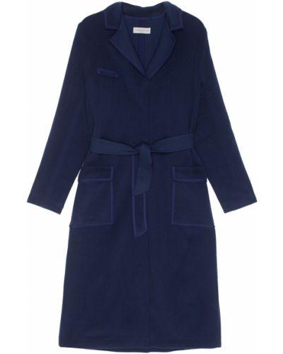 Пальто с поясом однобортное Laroom
