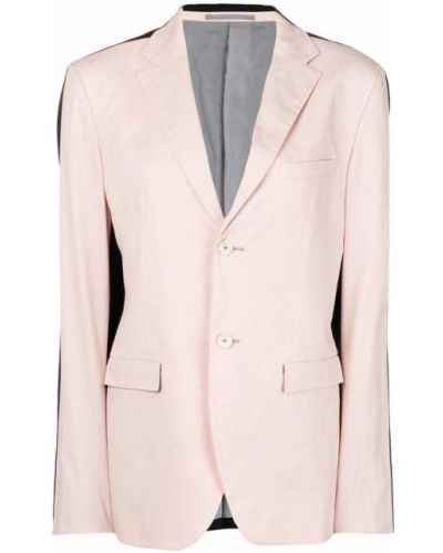 Розовый классический пиджак с карманами на пуговицах Jil Sander Pre-owned
