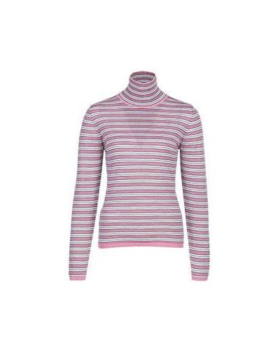 Шерстяная водолазка - розовая Marni