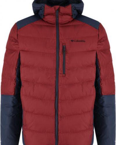Красная утепленная куртка Columbia