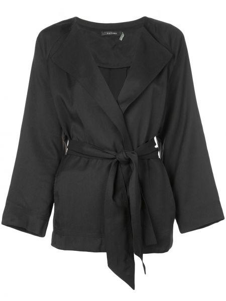 Куртка черная с запахом Natori