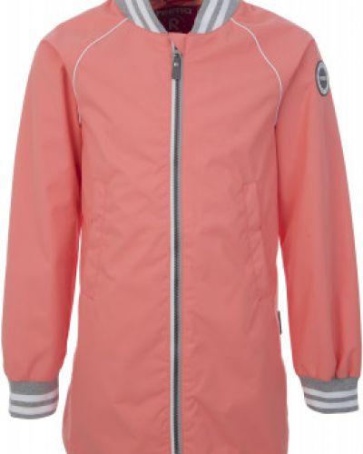Куртка розовый длинная Reima