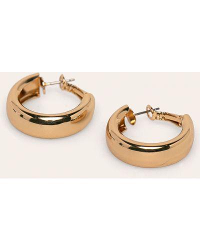 Золотые серьги золотой универсальный Pieces