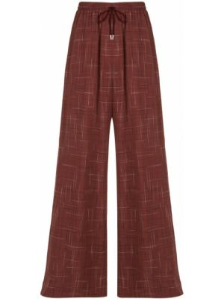Красные свободные брюки с карманами свободного кроя с высокой посадкой G.v.g.v.