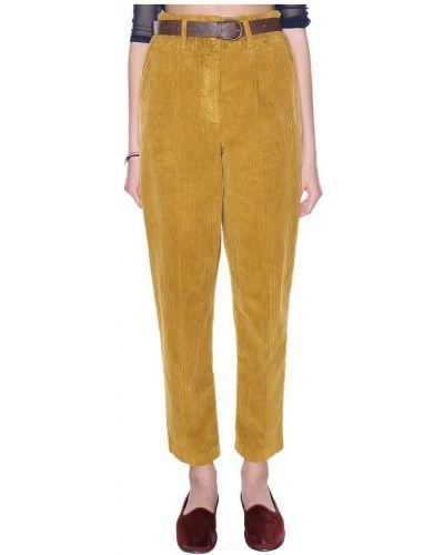 Spodnie - żółte Tensione In
