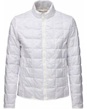 Biała z kaszmiru kurtka pikowana Saldarini